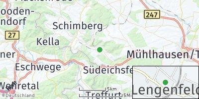 Google Map of Lengenfeld unterm Stein