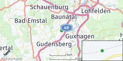 Google Map of Edermünde