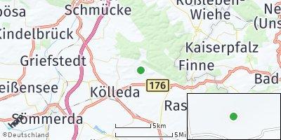 Google Map of Großmonra