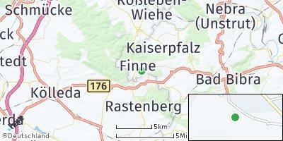 Google Map of Lossa bei Naumburg