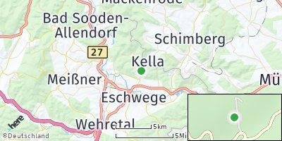 Google Map of Meinhard bei Eschwege