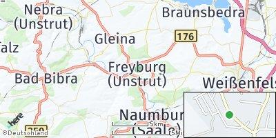 Google Map of Freyburg