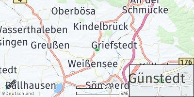 Google Map of Günstedt