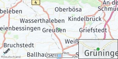 Google Map of Greußen