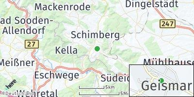 Google Map of Geismar