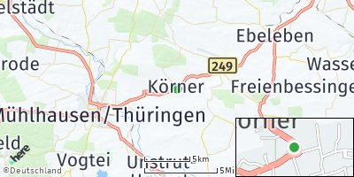Google Map of Körner