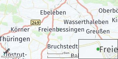 Google Map of Freienbessingen