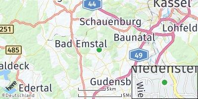 Google Map of Niedenstein