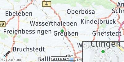 Google Map of Clingen