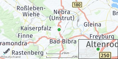 Google Map of Altenroda