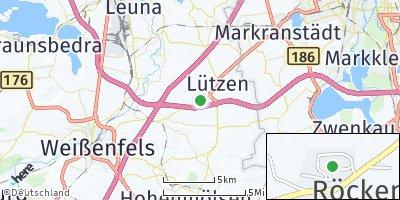 Google Map of Röcken
