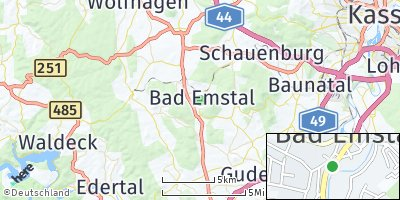 Google Map of Bad Emstal