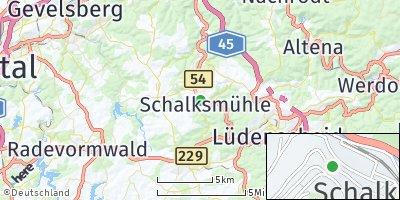 Google Map of Schalksmühle