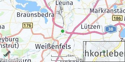 Google Map of Schkortleben