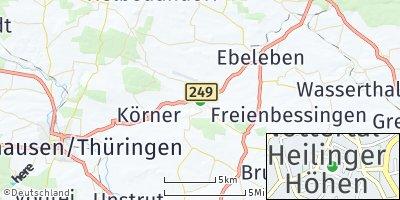 Google Map of Schlotheim
