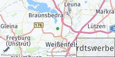 Google Map of Reichardtswerben