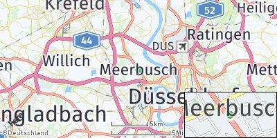 Google Map of Meerbusch