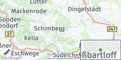 Google Map of Großbartloff