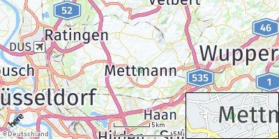 Google Map of Mettmann