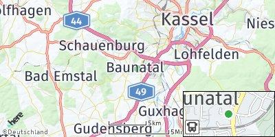 Google Map of Baunatal