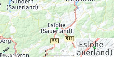 Google Map of Eslohe