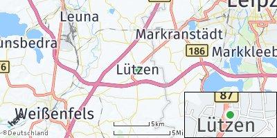 Google Map of Lützen