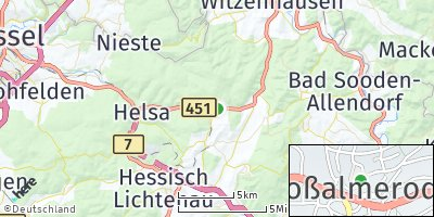 Google Map of Großalmerode
