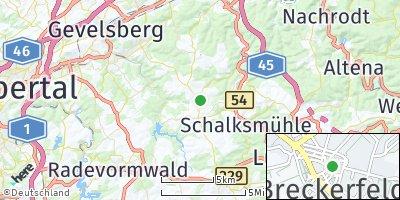 Google Map of Breckerfeld