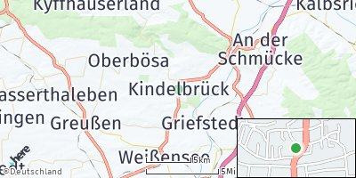 Google Map of Kindelbrück