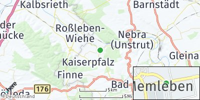 Google Map of Memleben