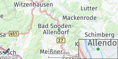 Google Map of Bad Sooden-Allendorf