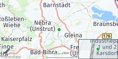 Google Map of Karsdorf