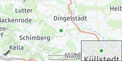 Google Map of Küllstedt