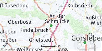 Google Map of Gorsleben bei Artern