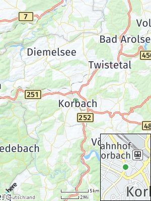 Here Map of Korbach