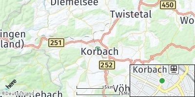 Google Map of Korbach