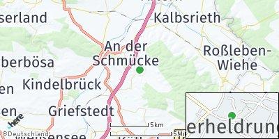 Google Map of Oberheldrungen
