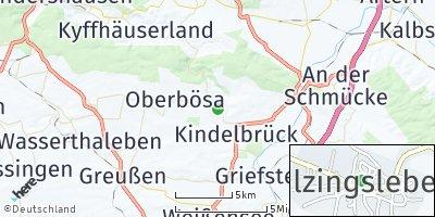 Google Map of Bilzingsleben