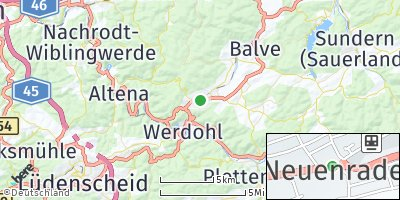Google Map of Neuenrade