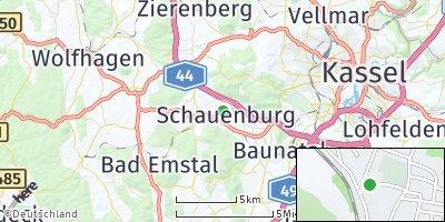 Google Map of Schauenburg