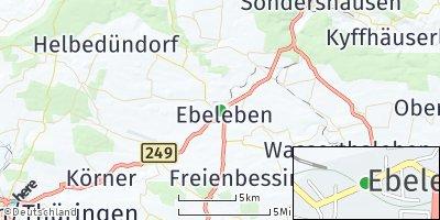 Google Map of Ebeleben