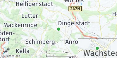 Google Map of Wachstedt