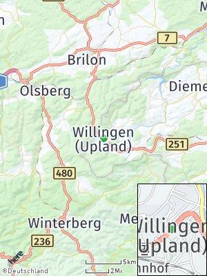 Here Map of Willingen