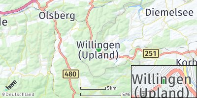 Google Map of Willingen