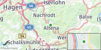 Google Map of Altena