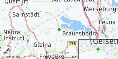 Google Map of Mücheln