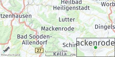 Google Map of Mackenrode