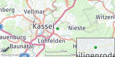 Google Map of Niestetal