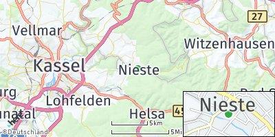 Google Map of Nieste