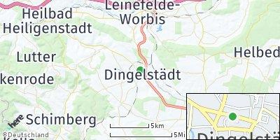 Google Map of Dingelstädt